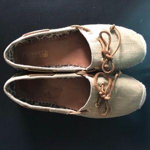 Sperry slip on loafer